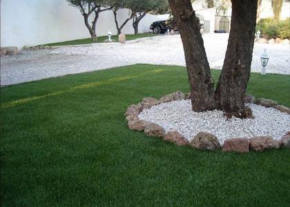 Instalacion cespéd artifical Jardines
